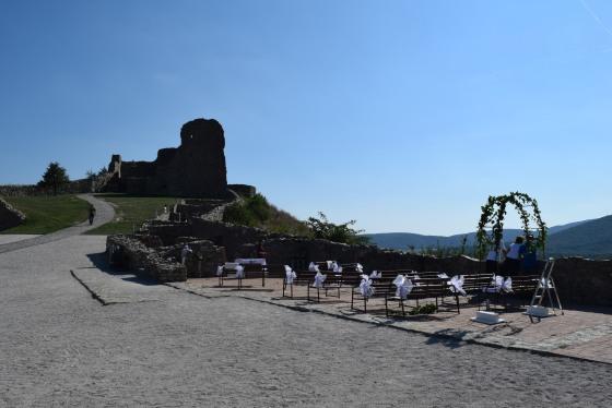 Devín hrad, svadba